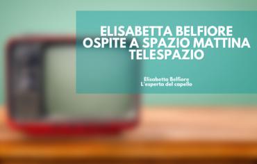 Elisabetta Belfiore ospite a Spazio Mattina – Telespazio